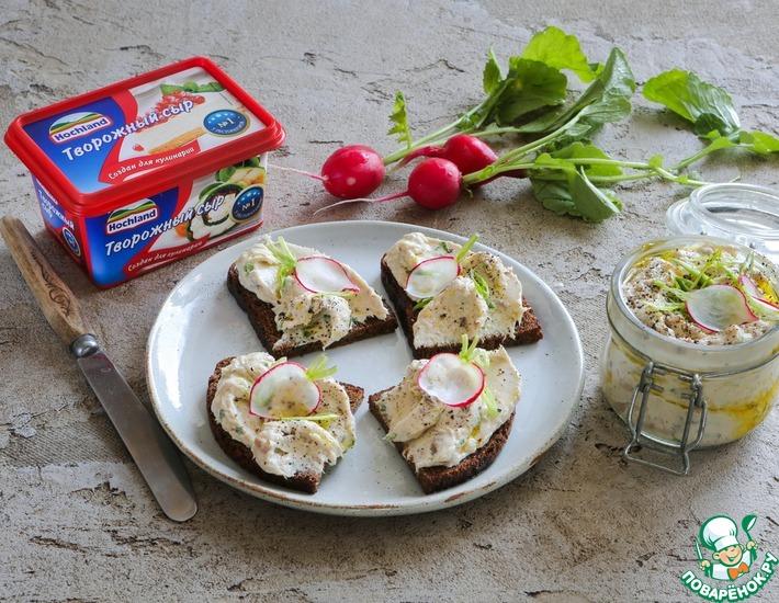 Рецепт: Сырно-скумбриевый рийет