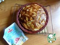 Грушево-яблочный заливной пирог ингредиенты