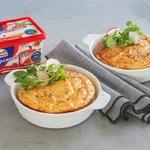 Картофельно-сырное суфле с горчицей