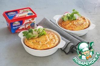 Рецепт: Картофельно-сырное суфле с горчицей