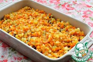 Каша гороховая в духовке Морковь