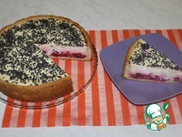 Тарт с вишней и сметанной заливкой ингредиенты