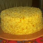 Творожный торт на сковороде Пломбир