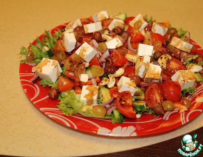Рецепт: Салат греческий Екатерина