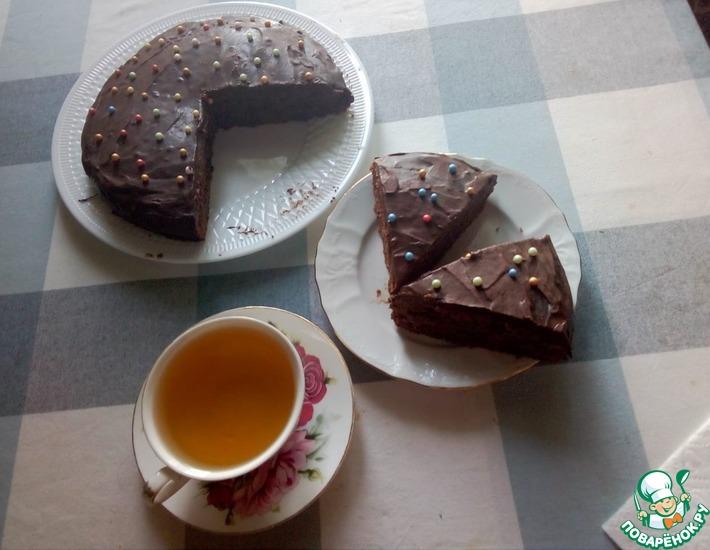 Рецепт: Торт с шоколадным муссом