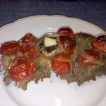 Печень в кефире Красное и Белое
