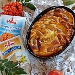 Мини-пирог с сезонными фруктами