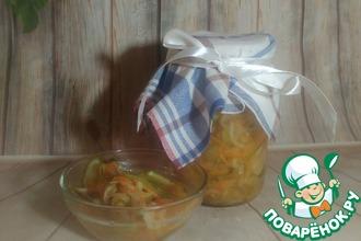 Рецепт: Салат Осенний на зиму