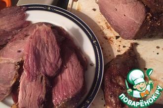 Рецепт: Пастрами из говядины