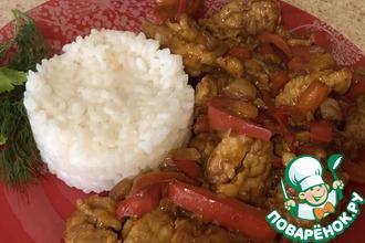 Рецепт: Мясо по-китайски