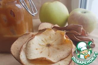 Рецепт: Яблочные чипсы