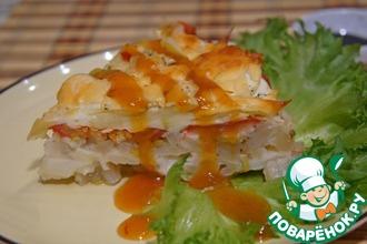 Рецепт: Запеканка из кабачков