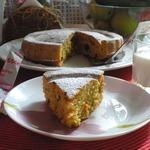 Морковный пирог на домашней ряженке