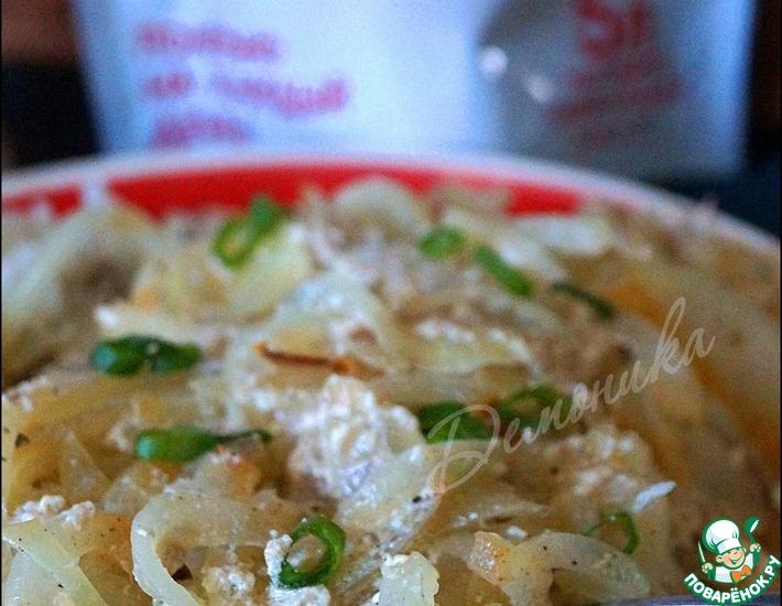 Рецепт: Скумбрия, запеченная в йогурте
