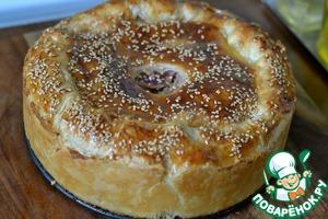 Сельский мясной пирог