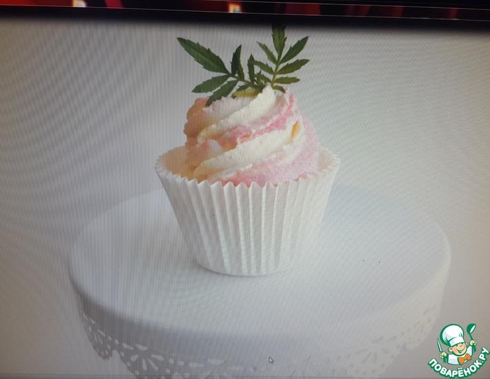 Рецепт: Творожные капкейки