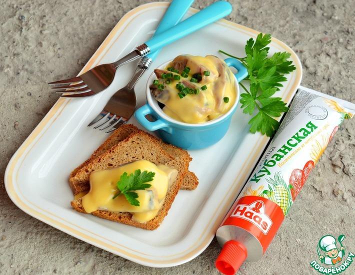 Рецепт: Сельдь в горчичном соусе