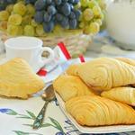 Бездрожжевые булочки Мидии с творогом