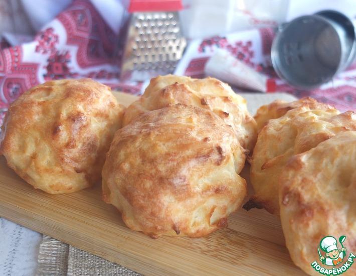 Рецепт: Творожно-картофельные булочки