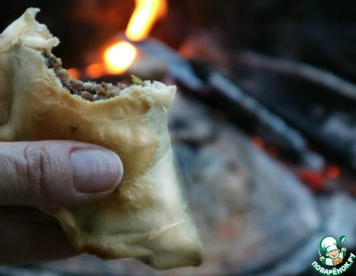 Рецепт: Аргентинские пирожки Эмпанадас