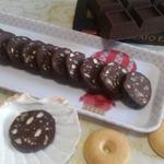 Шоколадная колбаса Лёгкая