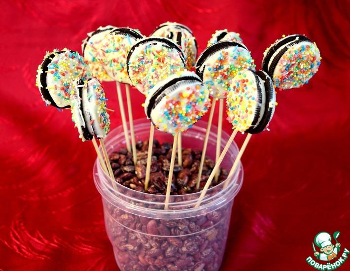 Рецепт: Кейк-попсы из печенья «Орео»