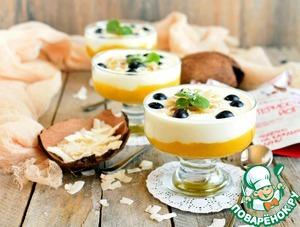 Охладите десерт хотя бы полчаса и наслаждайтесь!
