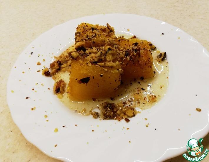 Рецепт: Турецкие сладости из тыквы