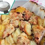 Курица с картофелем по-сельски