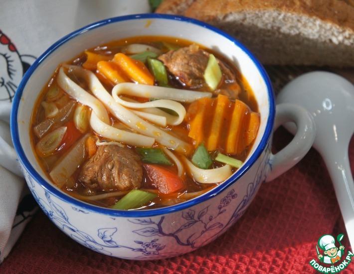 Рецепт: Суп Кесме по-киргизски