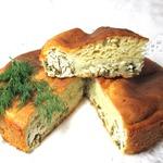 Пирог с творогом и зеленью Аппетитный