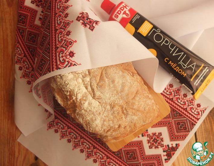Рецепт: Горчичный хлеб