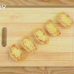 Мини-пицца на чипсах