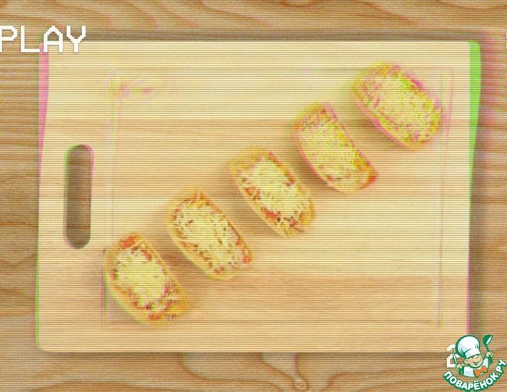 Рецепт: Мини-пицца на чипсах