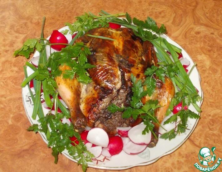 Рецепт: Курица лявянги