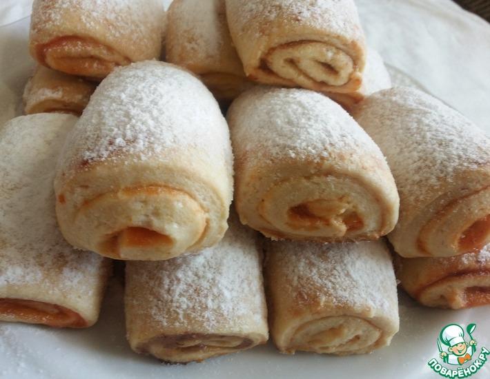 Рецепт: Песочное печенье за 20 минут
