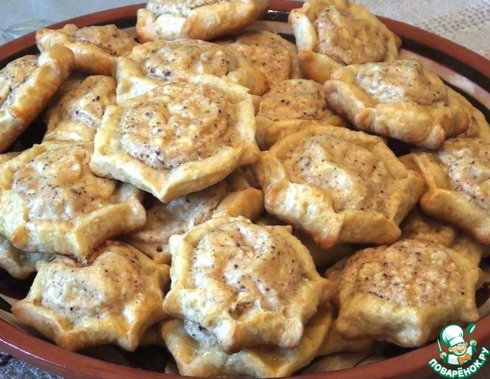 Рецепт: Греческие пирожки к Пасхе Калицунья