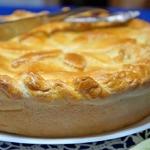 Пирог с куриной печенкой