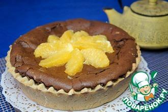 Рецепт: Шоколадный пирог с апельсином