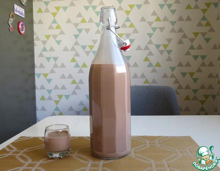 Рецепт: Шоколадный ликер