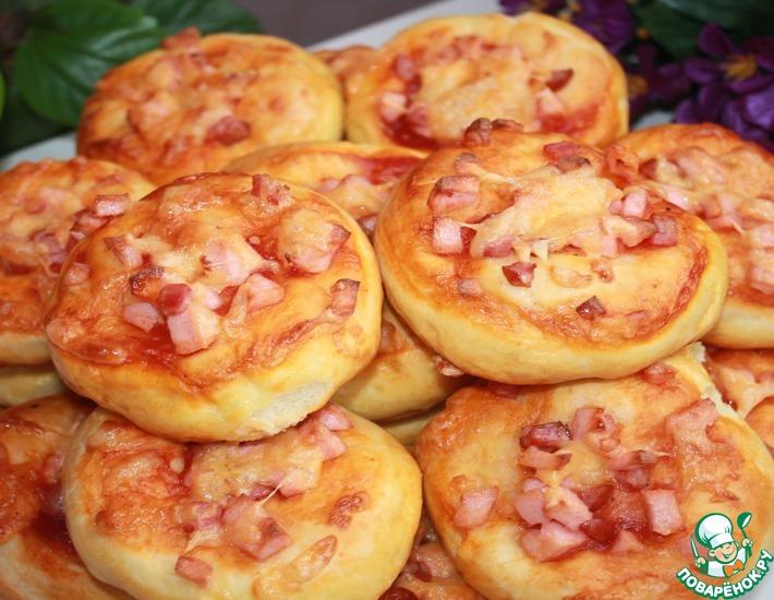 Рецепт: Мини-пиццы