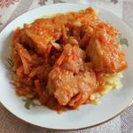 Треска по-восточному – кулинарный рецепт