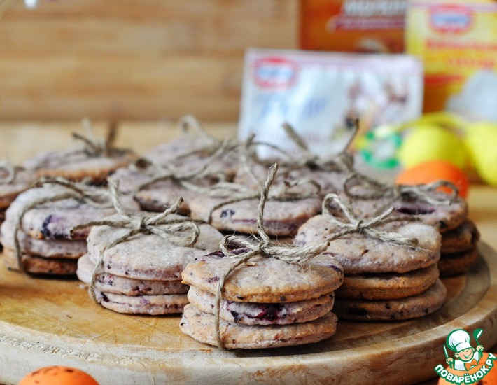 Рецепт: Английское пасхальное печенье Сомерсет