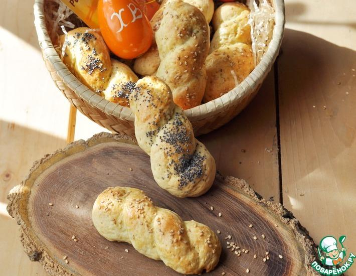 Рецепт: Греческое пасхальное печенье Кулуракья