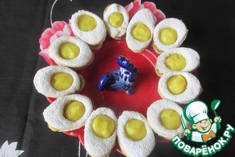 Рецепт: Печенье Пасхальные яйца