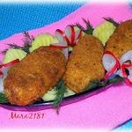 Тресковые колбаски в панировке