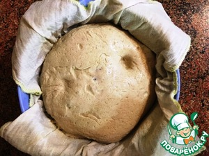 Вермонтский хлеб, пошаговый рецепт с фото