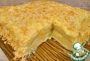 Крем для торта Наполеон: 11 рецептов, пошаговая инструкция, фото