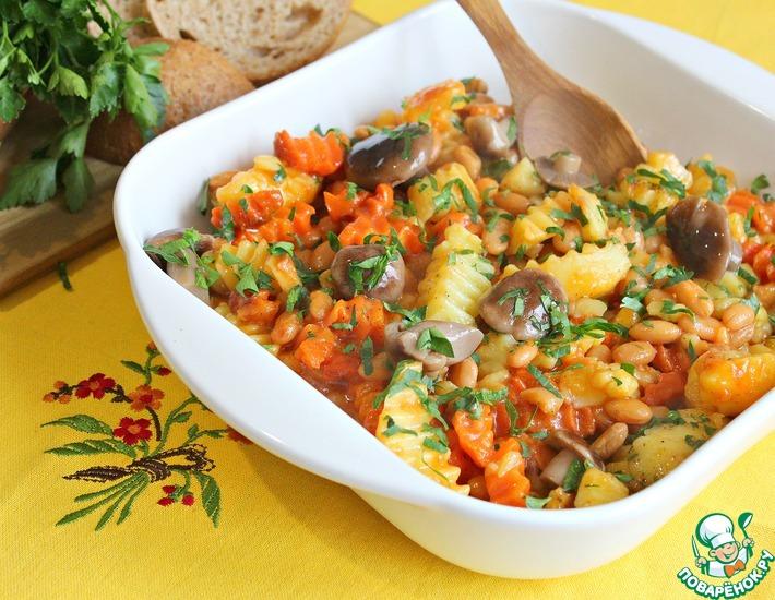 Рецепт: Овощное рагу Аппетитное