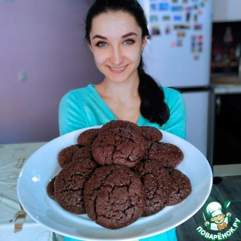 Печенье-брауни photo